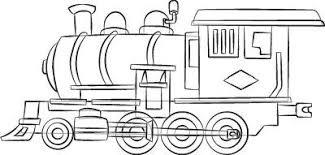 drawn railroad simple pencil and in color drawn railroad simple