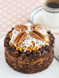 german chocolate cake baked oatmeal the breakfast drama queen