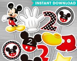 birthday invitation card mickey mouse 2nd birthday invitations