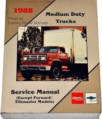 1988 1989 gmc chevy medium duty truck factory service manual 4000