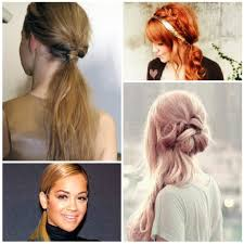 easy to do ponytail hairstyles 5 one minute basic ponytail