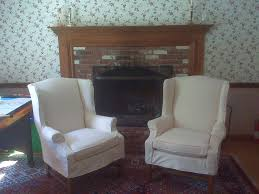 slipcover wing chair slipcovers for wing chairs with square cushions best home chair