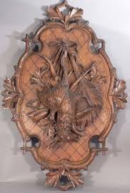 wood carving wall for sale lg antique black forest carved wood 28 wall plaque