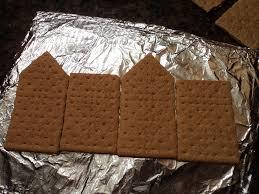 halloween diy graham cracker faux gingerbread haunted house