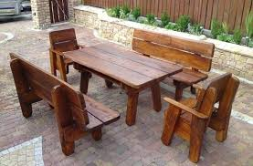 Wooden Patio Tables Luxury Wooden Patio Chairs And Chic Wooden Patio Table And Chairs