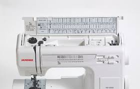 janome hd3000 perfect heavy duty sewing machine for your home