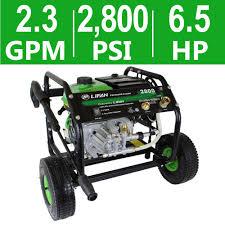 ryobi 2 800 psi 2 3 gpm honda power control gas pressure washer