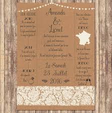 faire part mariage vintage faire part mariage invitation papier kraft le petit faire part