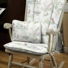 Rocking Chair Covers For Nursery Nursery Ryme Toile Rocking Chair Cover Homespun Pinterest