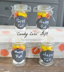 Halloween Candy Jar Ideas by Candy Corn Gifts For Your Family Friends Teachers And Classmates