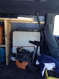 Cargo Van Shelves by Wood Storage Shelving For Cargo Vans Vehicles Contractor Talk