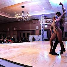 salsa cabaret dancing professional couple routine video popsugar
