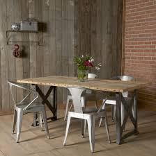 Salvaged Wood Dining Room Tables Makeovers And Decoration For Modern Homes Rustic Plank Dining