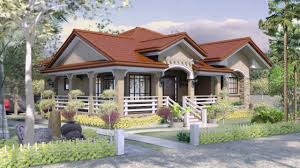 bungalow house design with floor plan in the philippines youtube