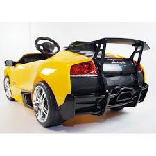 lamborghini murcielago ride on car licensed lamborghini murcielago lp670 ride on car with remote