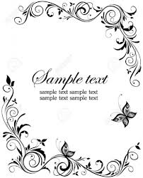 invitation borders free download wedding borders clipartion com