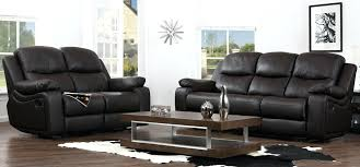 2 Seater Recliner Leather Sofa 2 Seater Leather Recliner Sofa Sale Electric 4 Sets Black Colored