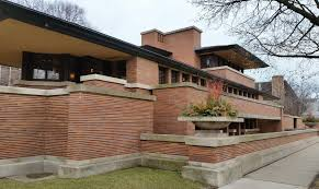 frank lloyd wright prairie style great robie house chicago by