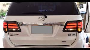 lexus minivan 2012 carcrome fortuner modified led tail light bmw and lexus style
