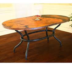 hammered copper dining table hammered copper dining table dining table design ideas