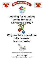 christmas parties afloat sherborne wharf