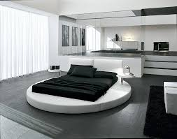 Design Fascinating Simple Bedroom Interior With Modern Flat Fair Innocence In A White Round Bed Round Beds Bedrooms And Interiors