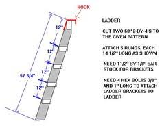 plans for the bunk bed ladder diy ideas pinterest bunk bed