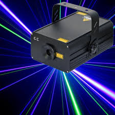 200mw blue laser light projector bomgoo