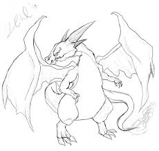 amazing charizard coloring kids color 7945 unknown