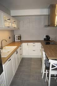 cuisine avec credence inox cuisine inox ikea nouveau impressionnant cuisine ikea blanche et