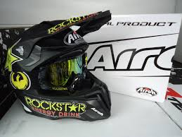 airoh motocross helmets new 2016 airoh twist rockstar helmet dragon rockstar goggles