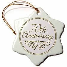 70th anniversary gift 3drose orn 154512 1 70th anniversary gift gold text for