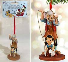 disney pinocchio geppetto tree sketchbook decoration