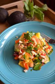 cuisine salade salade d inspiration thaïlandaise cuisine à dine