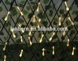 teardrop led summer hanging light decoration wireless