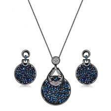swarovski earring necklace set images Original crystals from swarovski jewelry high quality fashion jpg