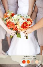 Color Combinations With Orange 18 fall wedding color palettes the ultimate guide the perfect