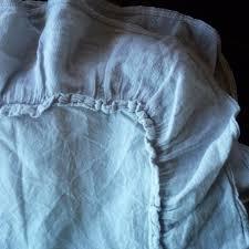 Piubelle Bedding Piubelle King Duvet Shams Gray 3pcs Shabby Chic Cotton Ruffle Portugal