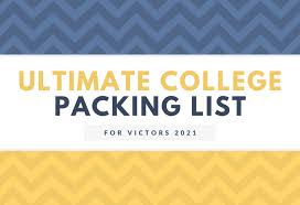 Michigan Travel Laundry Bag images Ultimate packing guide university unions png