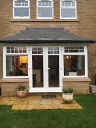 bay french doors upvc bay window with french doors in menston west upvc bay window with french doors