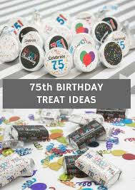Favors For 75th Birthday by 37 Best 75th Birthday Ideas Images On 75th