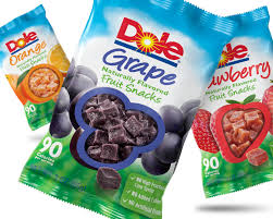 dole fruit snacks dole the thompson design brand consulting and packaging