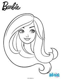 face barbie coloring pages kids coloring pages