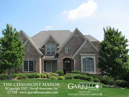 manor house plans chaumont manor house plan house plans by garrell associates inc