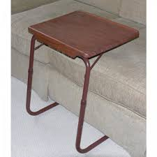 table mate tv tray amazon com table mate ii woodgrain dark walnut 21 29 h x 20 5