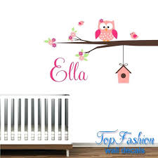Nursery Decals For Walls by Wall Ideas Owl Wall Decor For Nursery Target Owl Wall Decor