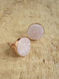 druzy stud earrings 2378 best accesorios images on jewelry necklaces and