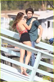 bella thorne makes out with nash grier for new movie photo