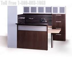 Reception Station Desk Reception Station Desk Lobby Furniture Oak Walnut Maple Cherry