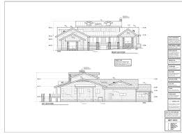 roof deck plan foundation arrowhead drafting